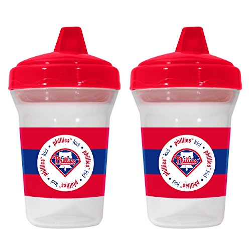 MLB Philadelphia Phillies Sippy Cups, 2-Pack