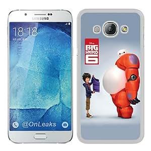 Fashionable A8 Case,big hero 6 (2) White Phone Case For Samsung Galaxy A8 Case