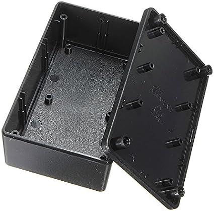 H*W*L 8pcs Black Plastic Electronic Project Box Enclosure case DIY 20x35x55mm