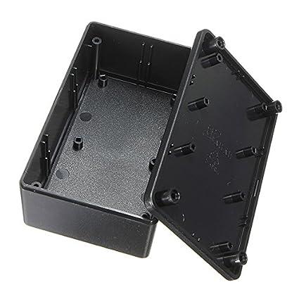 EsportsMJJ Abs Plástico Gabinete Electrónico Caja Proyecto Negro ...