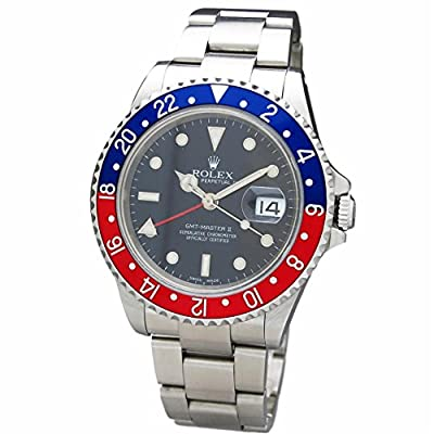 Rolex GMT Master II Swiss-Automatic Male Watch 16710 (Certified Pre-Owned) from Rolex