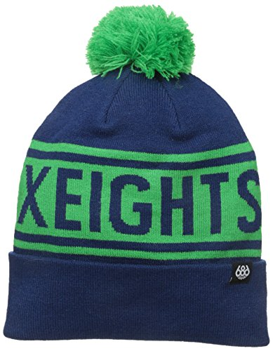 - 686 Men's Banner Beanie, Indigo, One Size