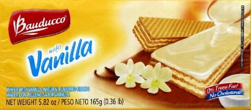 Bauducco Wafers Vanilla 5.82 OZ (PACK OF 3)