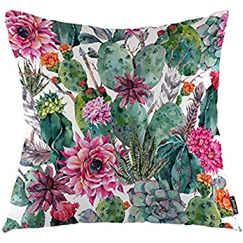 Amazon.com: hattfart Cactus impresión manta decorativa ...