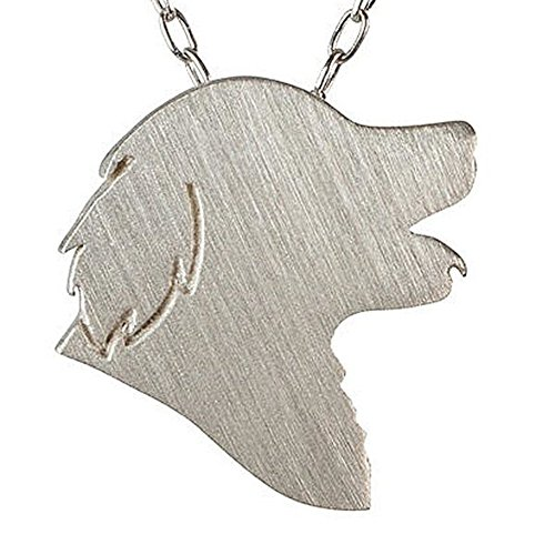 - Golden Retriever Necklace Charm Jewelry Silver & Gold for Men and Women