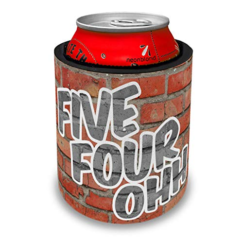 NEONBLOND 540 Roanoke, VA brick Slap Can Cooler Insulator Sleeve