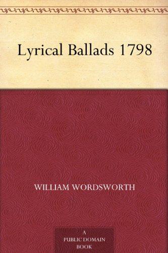 Lyrical Ballads 1798 (English Edition)