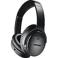 Bose QuietComfort 35 Series II Over-Ear Wireless Bluetooth Headphones with Microphone (Black)