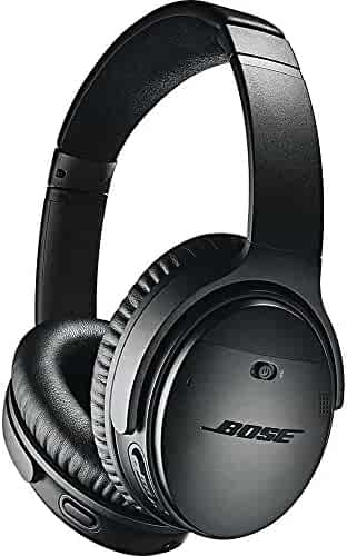 Bose QuietComfort 35 (Series II) Wireless Headphones, Noise Cancelling, with Alexa Voice Control - Black
