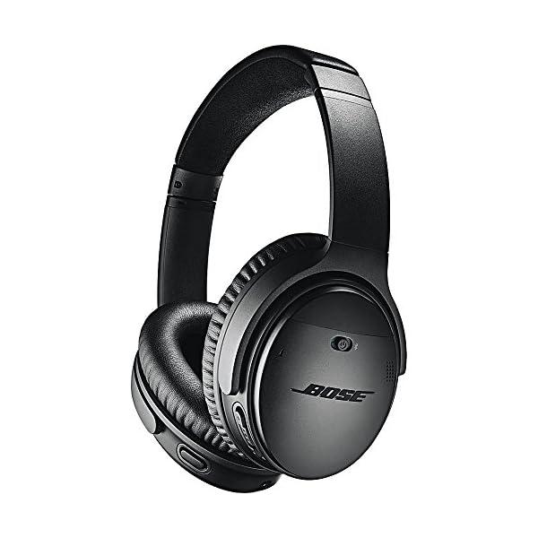 Bose QuietComfort 35 II Wireless Bluetooth Headphones, Noise-Cancelling, with Alexa Voice Control - Black 1