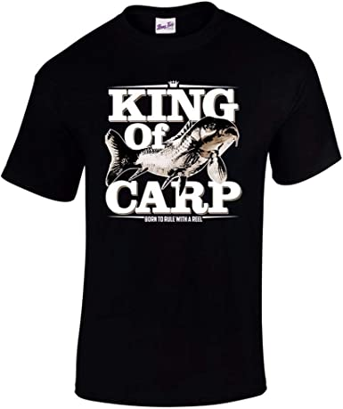 Fishing Carp Gift Men Baseball Top Fisherman