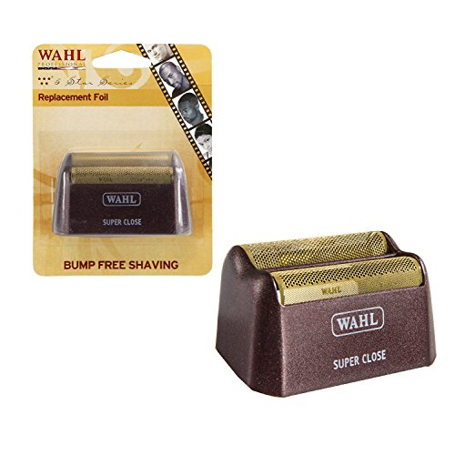 Replacement Foil Shaver - Wahl Professional 5-Star Series Replacement Gold Foil 7031-200 Hypo-Allergenic for Super Close Shaving