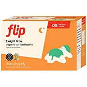 Flip Organic Cotton Night Time Inserts - 2ct
