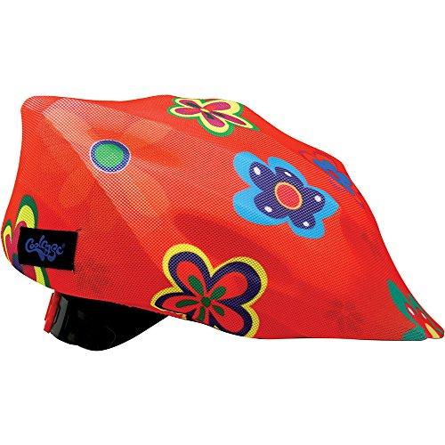 Coolcasc Hippy Fleur couvre casque Multicolore