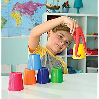 PlayMonster Stacktopus--Slip on Silly Sea Fingers and Go!--Kids Game: Toys & Games
