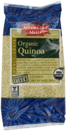 Arrowhead Mills Organic Quinoa, 14 Ounce (Pack of 6)