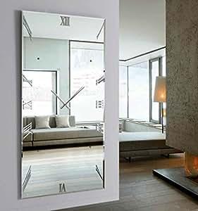 Disarte relojes de pared modernos murano espejo vestidor 180x100 hogar - Espejos decorativos amazon ...