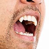 Vampire Teeth Horror False Teeth(6PCs) with Teeth