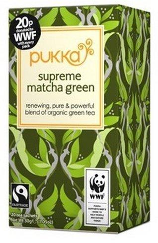 Pukka Herbs Supreme Grüner Matcha Tee FT 20 Beutel (4 Packungen)
