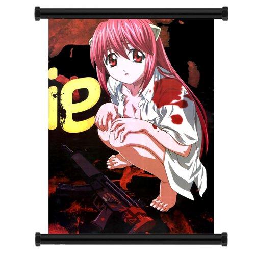 Elfen Lied Anime Fabric Wall Scroll Poster  Inches -Elfen Li