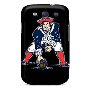 New Style PeggyPhillips New England Patriots Premium Tpu Covers Cases For Galaxy S3