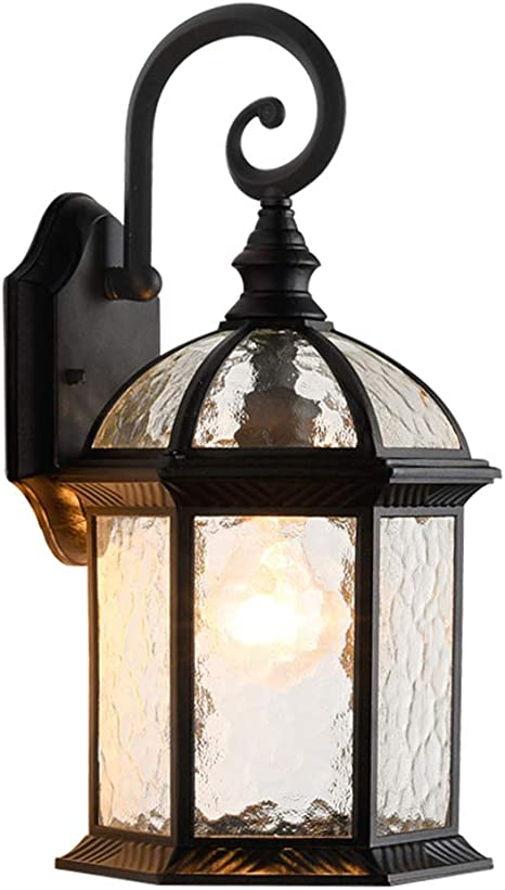 Lonedruid Outdoor Wall Light Fixtures Black 15 35 H Exterior Wall Lantern Waterproof Sconce Porch Lights Wall Mount For House Ul Listed Amazon Com