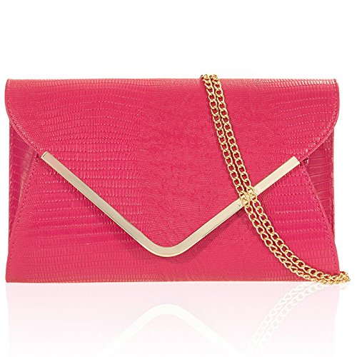 Rose Bags Red Ivory Party Ladies Croc Bridal Zarla Black Grey Green Pink Evening Clutch OqA1n6