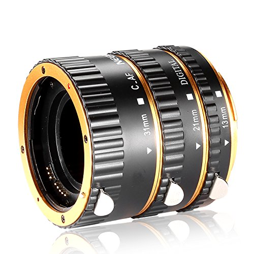 Neewer Auto Focus Macro Extension Tube Set for Canon EOS DSL