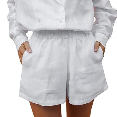 FELZ Pantalones Mujer Pantalones Cortos Mujer Las Mujeres de ...