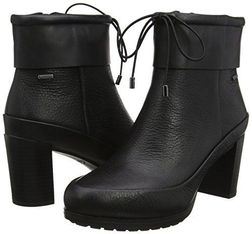 Clarks black Londonrain Leather Gtx Bottes Femme Noir z7ZzSTq