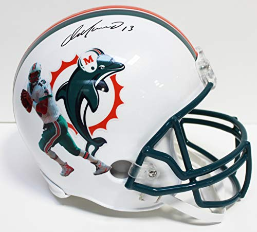Dan Marino Autographed Signed Miami Dolphins Full Size Replica Helmet- Fanatics Certified