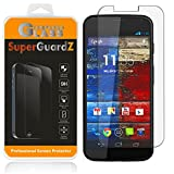 [3-Pack] For Motorola Moto X (1st Gen, 2013) - SuperGuardZ Tempered Glass Screen Protector, 9H, 0.3mm, 2.5D Round Edge, Anti-Scratch, Anti-Bubble