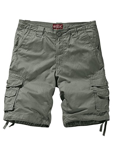 Match Men's Comfort Cargo Short (Label Size 5XL/42 (US 40), 3057 - Zip Twill Short