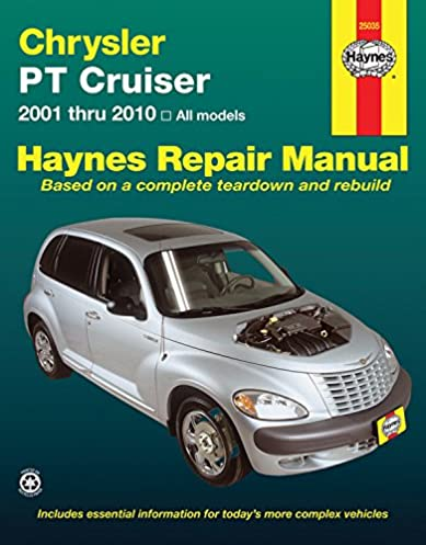 chrysler pt cruiser 2001 2010 haynes repair manual haynes rh amazon com free 2003 pt cruiser owners manual 2003 pt cruiser repair manual pdf