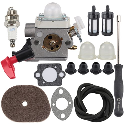 Butom C1M-S267A FS40 Carburetor with Air Filter Adjustment Tool for Stihl  FS50 FS50C HT56 HT56C KM56 KM56C KN56 FS56 FS56C FS70 FS70C FS70 FC56 FC70