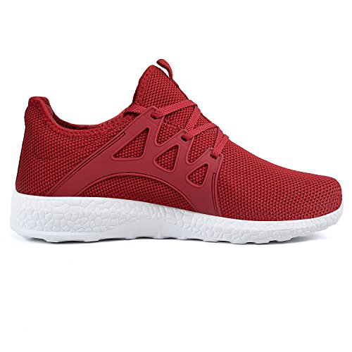 505759ea3bf87 Feetmat Womens Sneakers Ultra Lightweight Breathable Mesh Walking Gym  Tennis Athletic Running Shoes