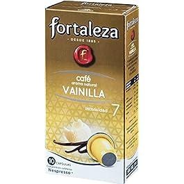 Café FORTALEZA – Cápsulas de café con Aroma Vainilla Compatibles con Nespresso