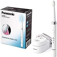 Panasonic EW-DM81-W503 Cepillo de Dientes Eléctrico Sónico, Recargable (2 Cabezales, 2 Modos de Uso, 31.000 Vibraciones por Minuto, Diseño Ligero)