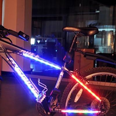 Bike Bicycle Wheel 14 LED Bright lighting Spoke Lights