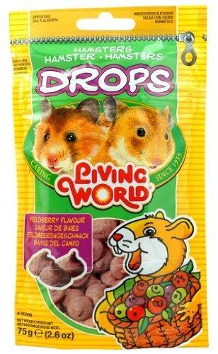 Vida Mundo caídas hámster Treat, 2.6-Ounce, Berry de campo por vida mundo Living World