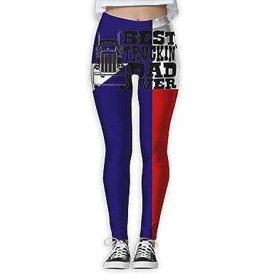 d46a130644 Amazon.com: Best Truckin' Dad Ever Truck Driver Yoga Pants Workout Leggings  Sports Pants Size(S-XL): Clothing