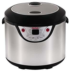 Tefal Multicook 8 en 1 - Robot de cocina programable, función mantener en caliente, cocción rápida, lenta, vapor