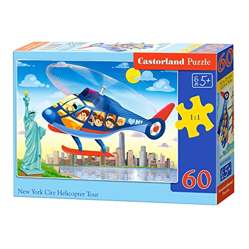 Castorland Puzzle New York City Helicopter Tour 60 Pieces