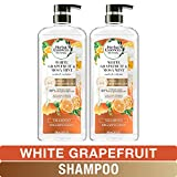 Herbal Essences Shampoo, BioRenew White Grapefruit & Mosa Mint Naked Volume, 20.2 fl oz, Twin Pack