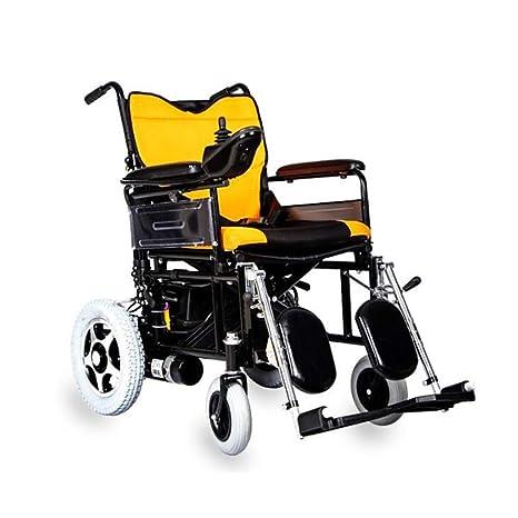 Silla de ruedas plegable ligera, silla de ruedas eléctrica ...