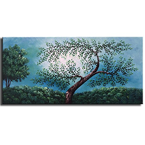 yasheng-art-hand-painted-oil-painting-on-canvas-palette-knife-landscape-tree-paintings-contemporary-