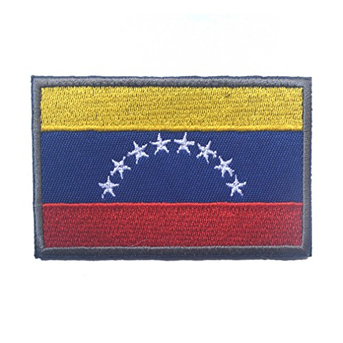 Venezuela Flag Patch Embroidered Military Tactical Flag -