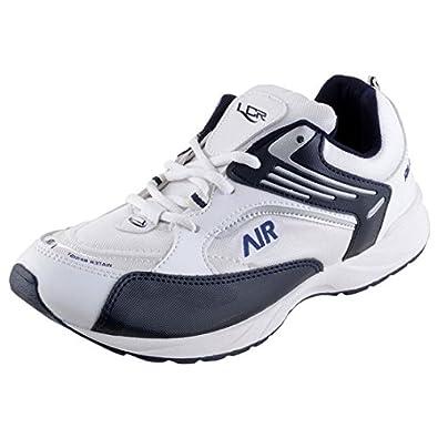 Vjs Auto Sales >> Buy Lancer Men'S White Navy-Blue Running Sports Shoes 10 ...
