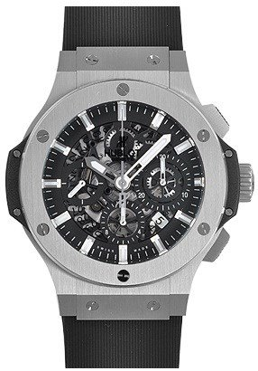 Hublot Big Bang Aero Bang Steel Black Dial Automatic Mens Watch 311.SX.1170.RX