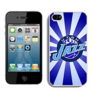 NBA Utah Jazz Iphone 4 or Iphone 4s Case Hot For NBA Fans By zeroCase
